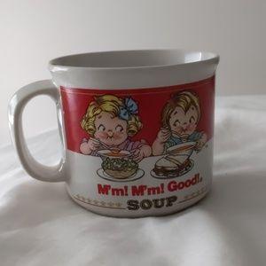 1989 soup mug Campbell's